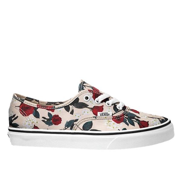 Vans Shoes | Vans Authentic Roses Nwt